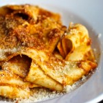 White Bolognese Pappardelle