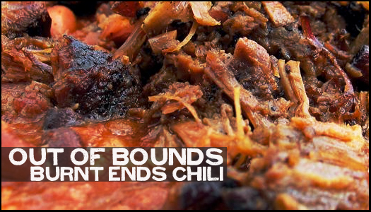 Burnt Ends Chili Marinate Me Baby