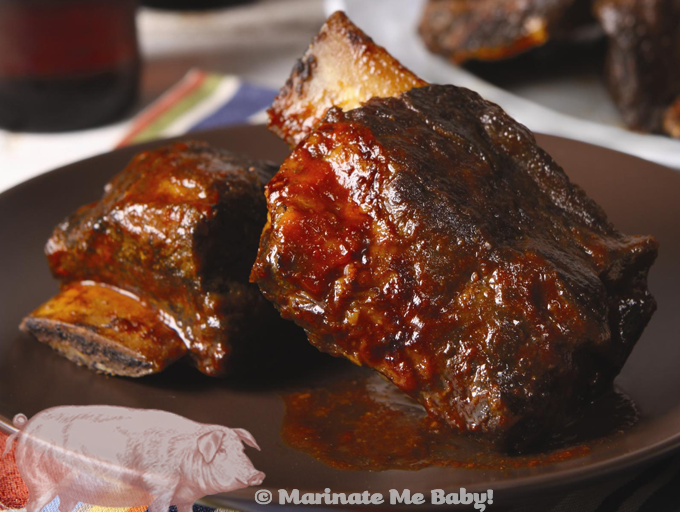 Downtown BBQ Beef Short Ribs — Marinate Me Baby