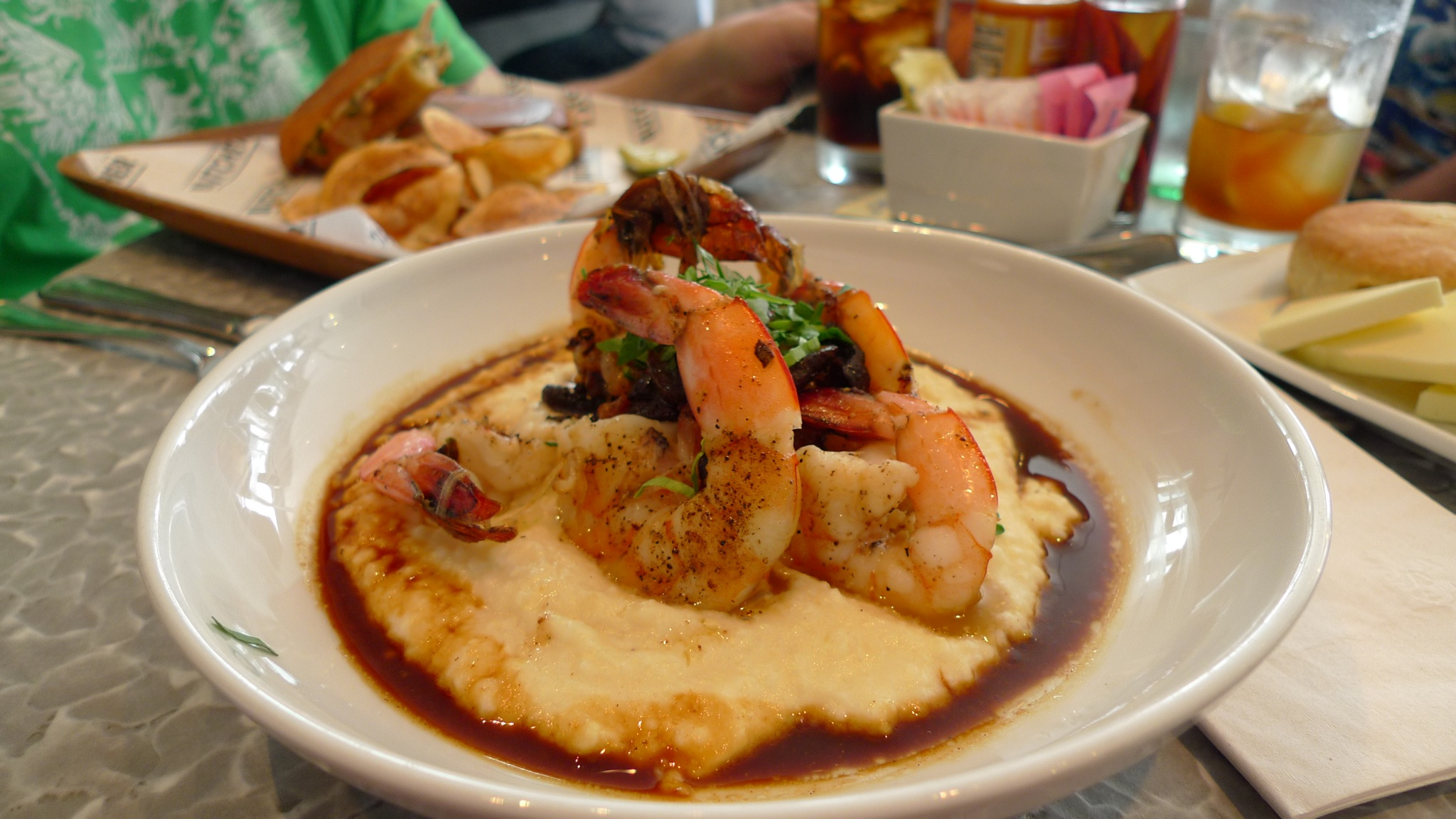 Carolina Shrimp and Grits