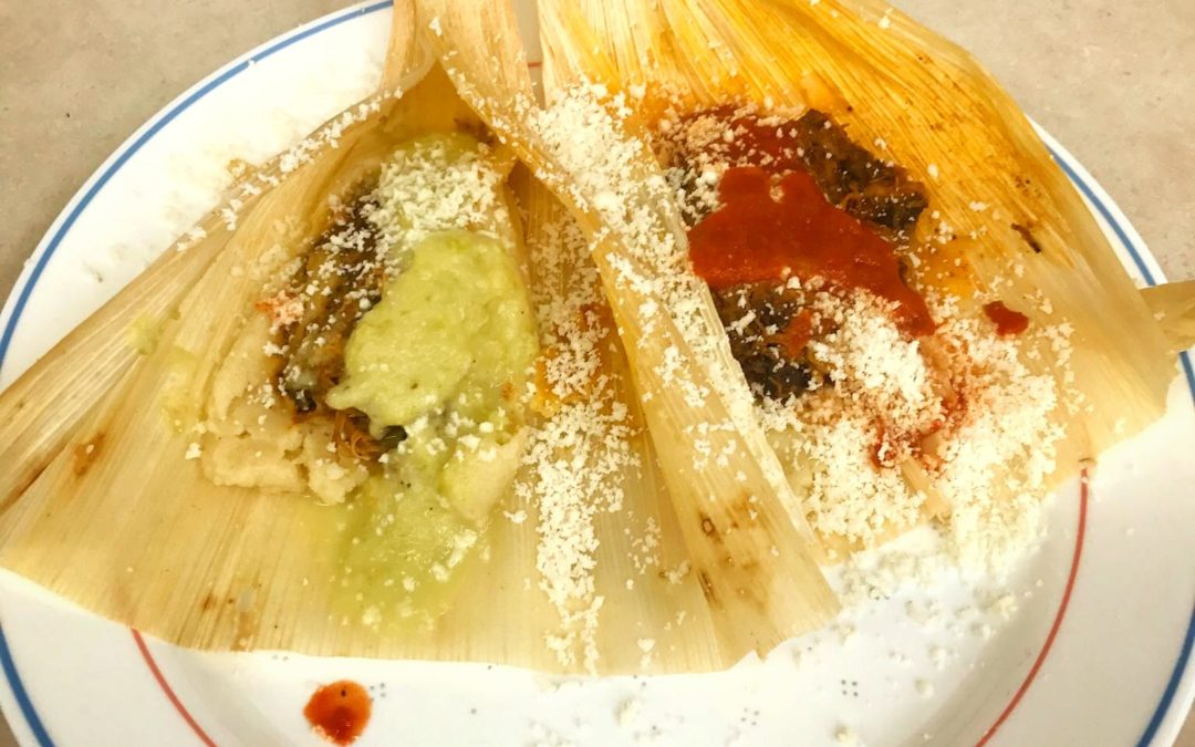 Tamales with a Red Chile Chicken Filling Recipe